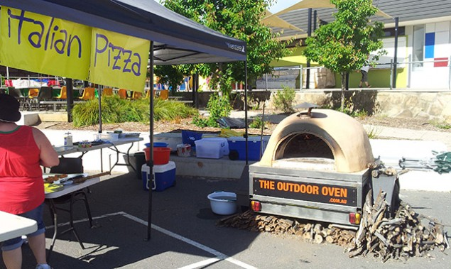 Pizza Oven Hire for School Fete