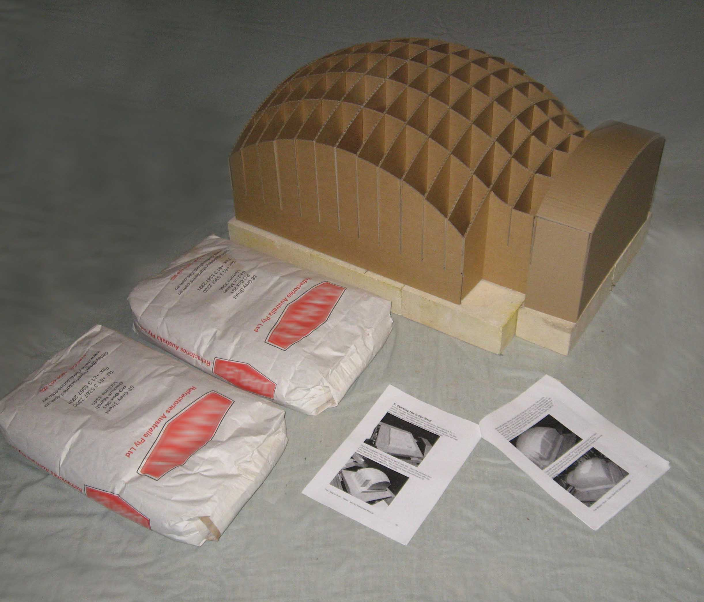 The Outdoor Oven :: Wood fired Pizza Oven Kits :: Deluxe ...
